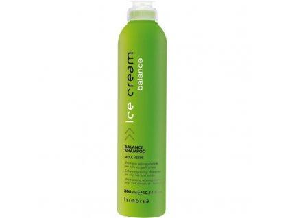 Inebrya Šampon na mastné vlasy Ice Cream Balance - (Balance Shampoo)