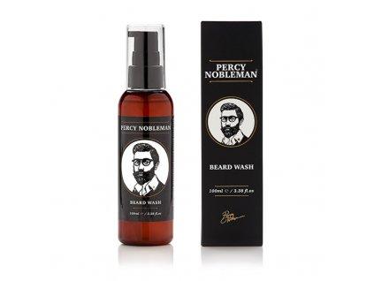 Percy Nobleman Šampon na vousy s vůní cedrového dřeva - (Beard Wash)