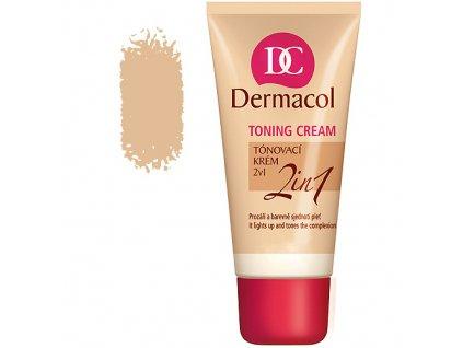 Dermacol Toning Cream 2in1 - tónovací krém natural