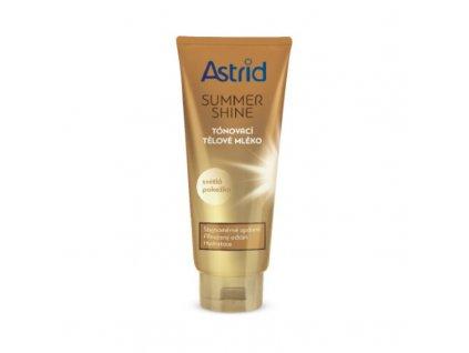 Astrid Tónovací tělové mléko pro světlou pokožku Summer Shine