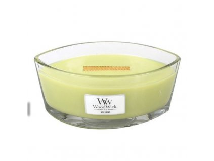 WoodWick Vonná svíčka loď Willow