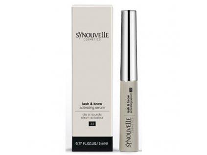 Synouvelle Cosmeceuticals Vysoce výkonné sérum pro dlouhé řasy a plné obočí 2.0 - (Lash & Brow Activating Serum)