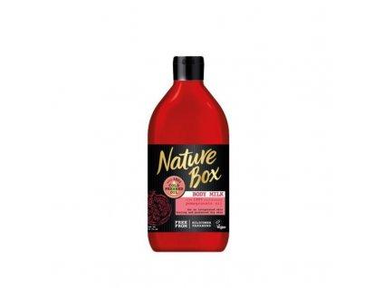 Nature Box Vyživující tělové mléko granátové jablko - (Body Milk)