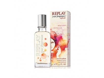 Replay Your fragrance! Refresh - (TESTER) toaletní voda