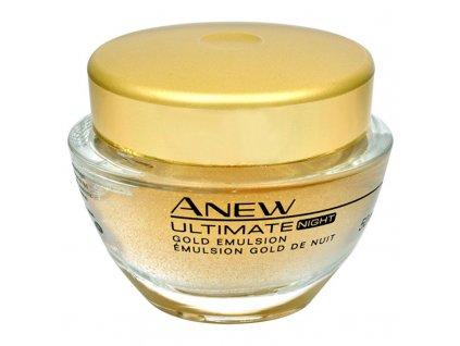 Avon Zlatá noční kúra Anew Ultimate 7S - (Gold Emulsion Night)