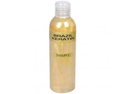 Brazil Keratin Zlatý šampon pro poškozené vlasy - (Shampoo Anti-Frizz Gold)