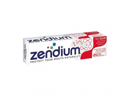 Zendium Zubní pasta Biogum - (Toothpaste With Natural Enzymes and Proteins)