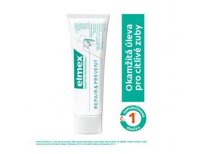 Elmex Zubní pasta pro úlevu od bolesti Sensitive Professional Repair & Prevent