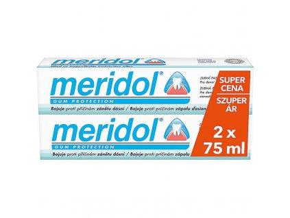 Meridol Zubní pasta proti zánětu dásní duopack 2 x