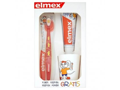 Elmex Kids Set - Sada pro dokonale čisté zuby pro děti
