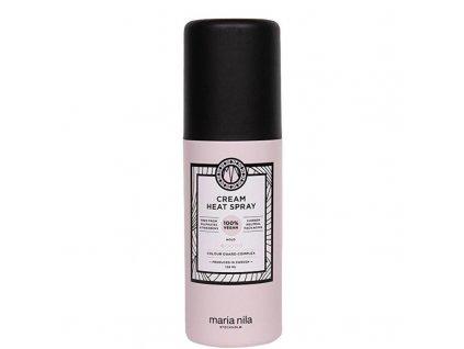 Maria Nila Vyživující a ochranný krém před tepelnou úpravou vlasů Style & Finish - (Cream Heat Spray)