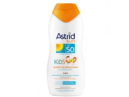 Astrid Dětské mléko na opalování OF 50 Sun