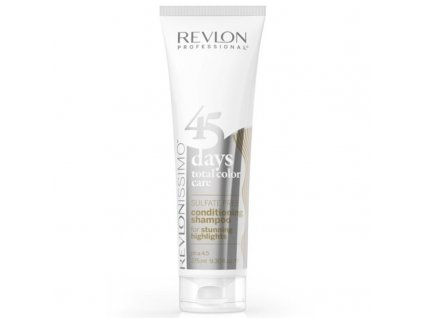 Revlon Professional Šampon a kondicionér pro šedivé, blonďaté a barvené vlasy Issimo - (Shampoo&Conditioner Stunning Highlights)
