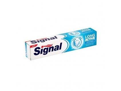 Signal Bělicí zubní pasta pro svěží dech - (Long Active White Fresh)