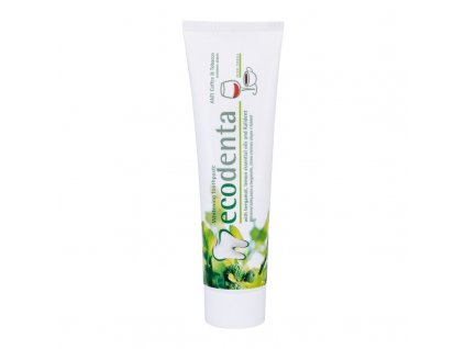 Ecodenta Toothpaste Whitening ANTI Coffee & Tobacco - zubní pasta