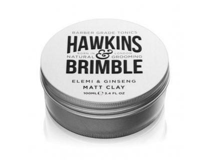 Hawkins & Brimble Matující pomáda na vlasy s vůní elemi a ženšenu - (Elemi & Ginseng Matt Clay)