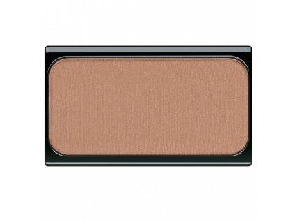 Artdeco Blusher - (02 Deep Brown Orange Blush) Pudrová tvářenka