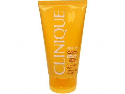 Clinique KOSMETIKA SPF15 - (Face Body Cream) voděodolný opalovací krém