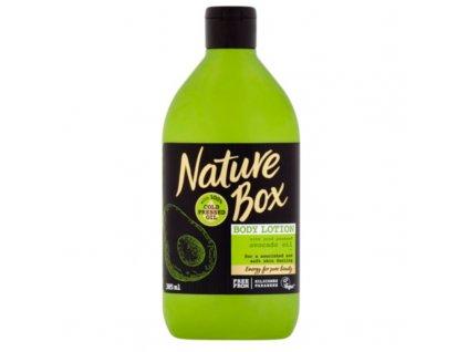 Nature Box Přírodní tělové mléko Avocado Oil - (Body Lotion)