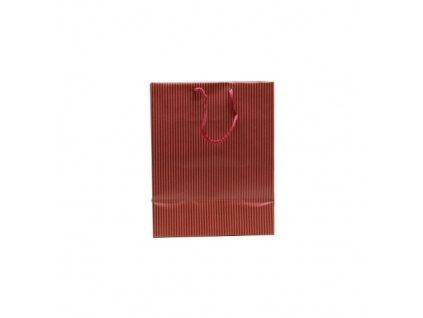 Dárkové předměty Dárková taška proužek - ( 19 x 24 cm )