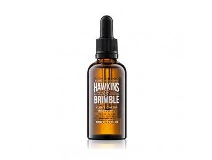 Hawkins & Brimble Vyživující olej na vousy a knír - (Elemi & Ginseng Beard Oil)