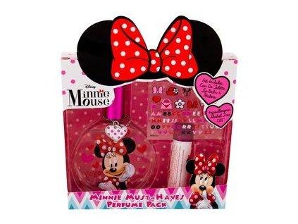 Dětské parfémy Minnie Mouse - toaletní voda 50 ml + lesk na rty 6 ml