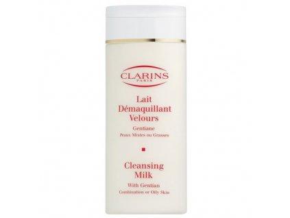 Clarins Cleansing Milk With Gentian - čistící pleťové mléko