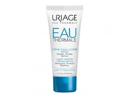 Uriage Lehký hydratační krém SPF 20 Eau Thermale - (Light Water Cream)
