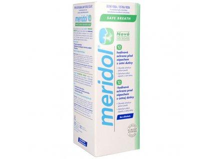 Meridol Ústní voda bez alkoholu pro svěží dech Halitosis