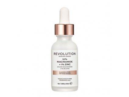 Makeup Revolution London Sérum na rozšířené póry se zinkem - (Blemish and Pore Refining Serum)
