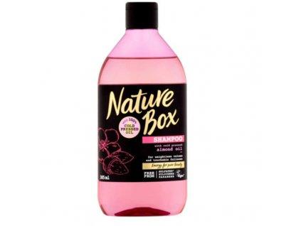 Nature Box Přírodní šampon pro beztížný objem Almond Oil - (Shampoo)