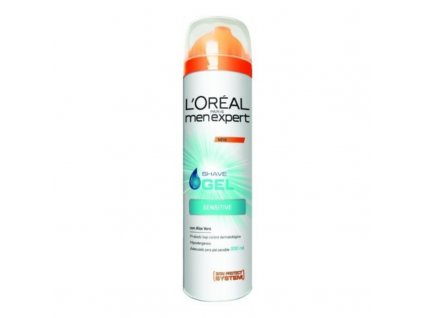 L´Oréal Paris Hydratační gel na holení pro citlivou pleť Men Expert - (Hydra Sensitive Shave Gel)