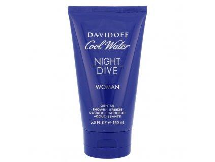 Davidoff Cool Water Night Dive - sprchový gel Woman