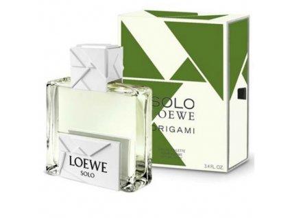 Loewe Solo Loewe Origami - toaletní voda