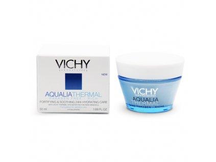 Vichy AQUALIA THERMAL RICH - posilující a zklidňující 24H hydratační péče pro velmi dehydratovanou pleť