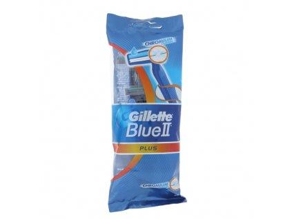 Gillette Blue II - jednorázový holící strojek (5 ks v jednom balení)