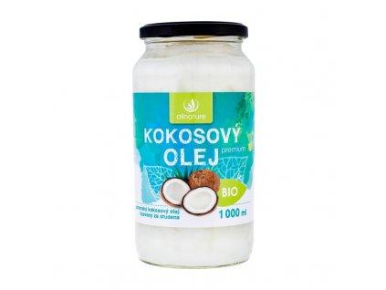 Allnature Premium Bio Coconut Oil - přípravek pro zdraví