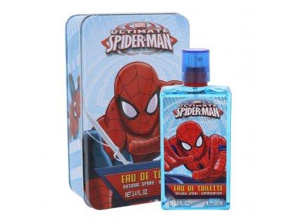 Marvel Ultimate Spiderman - toaletní voda 100 ml + plechová krabička