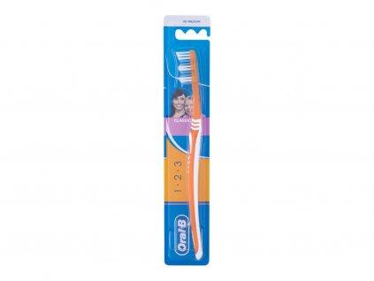 Oral-B 1-2-3 Classic - zubní kartáček Medium