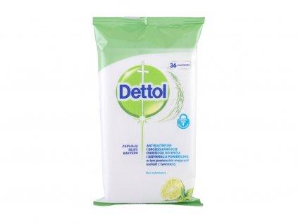 Dettol Antibacterial Cleansing Surface Wipes - antibakteriální přípravek Lime & Mint
