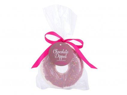 Makeup Revolution London Bath Fizzer Donut - (Chocolate Dipped) pěna do koupele