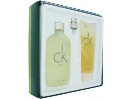 Calvin Klein CK One - toaletní voda 100 ml + sprchový gel 100 ml