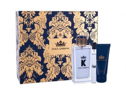 Dolce&Gabbana K - toaletní voda 100 ml + sprchový gel 50 ml + toaletní voda 10 ml