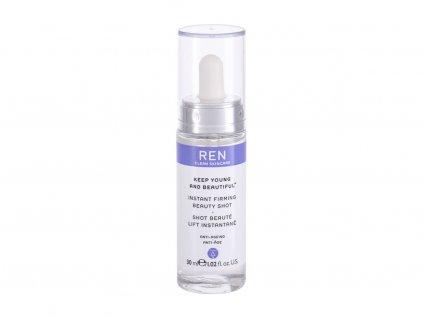 REN Clean Skincare Keep Young And Beautiful Instant Firming Beauty Shot - pleťové sérum