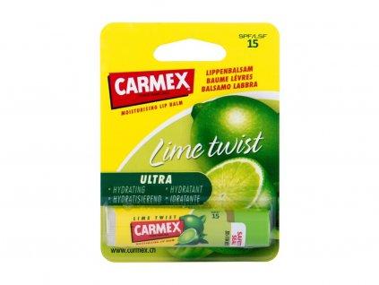 Carmex Lime Twist - balzám na rty SPF15