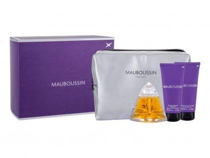 Mauboussin Mauboussin - parfémová voda 100 ml + tělové mléko 100 ml + sprchový gel 100 ml + kosmetická taštička