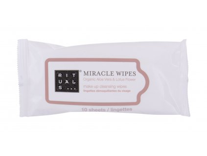 Rituals Miracle Wipes - Čisticí ubrousky