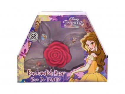 Disney Princess Princess - toaletní voda Ariel 15 ml + toaletní voda Belle 15 ml + toaletní voda Cinderella 15 ml