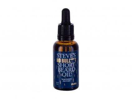 Steve´s No Bull***t Short Beard Oil - olej na vousy