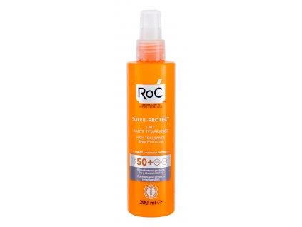 RoC Soleil-Protect High Tolerance - opalovací přípravek na tělo SPF50+
